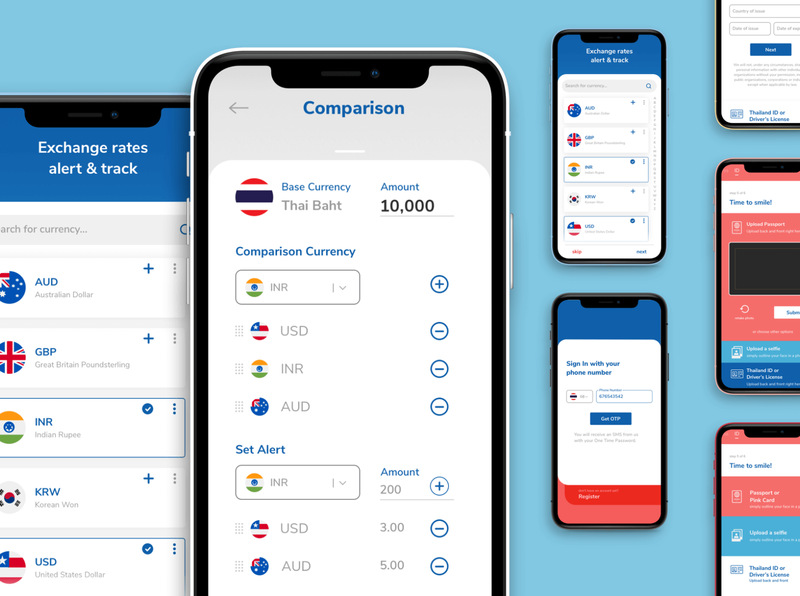 UX/UI design for a Thailand fintech