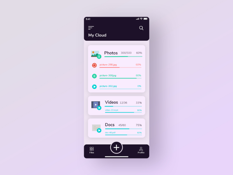 Daily UI Challenge Day 31 #031 File Upload UI ui design ui ux design flat file upload ui ux app illustration minimal daily ui