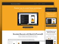 Framer Inventory 2.0 Landing Page