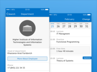 KFU Mobile Student - iOS App Preview