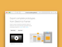 Export Prototypes for Framer Inventory 3
