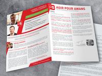 Flyer - Agir pour Awans