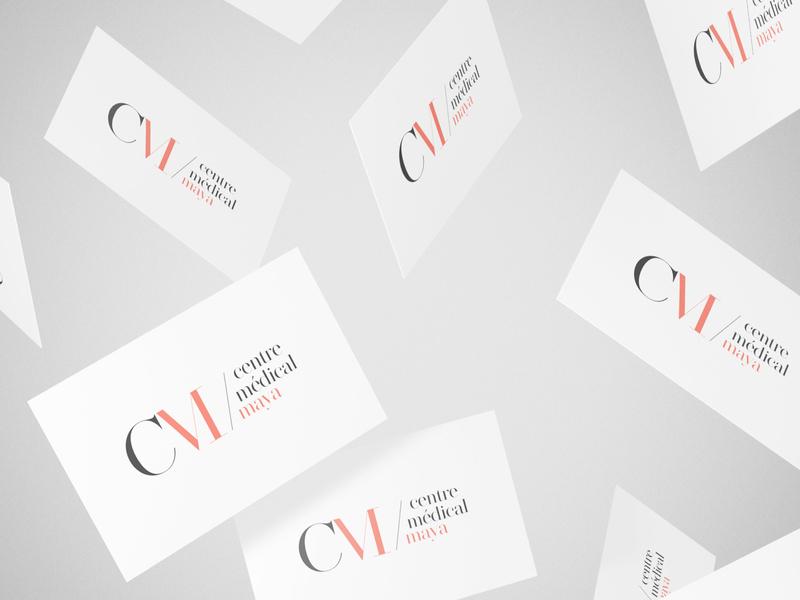 Centre Maya (work in progress) branding minimalist design clientwork minimal logo client work
