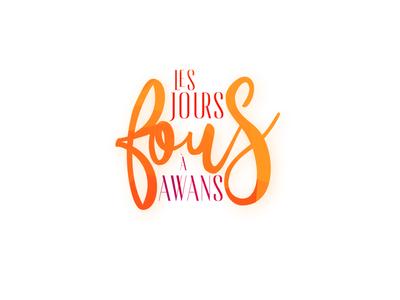 Les jours fours à Awans colors design poster logo branding clientwork minimalist minimal client work