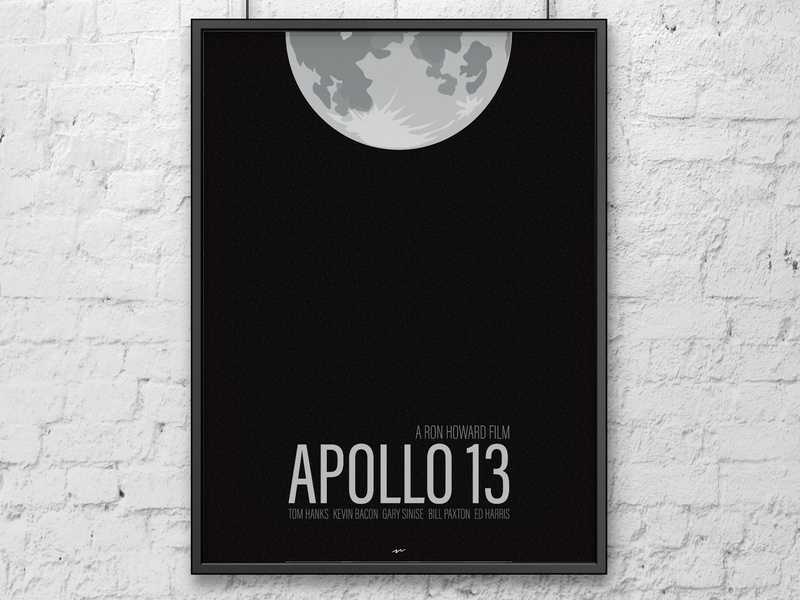 Apollo 13 movie poster poster minimalist minimalist poster