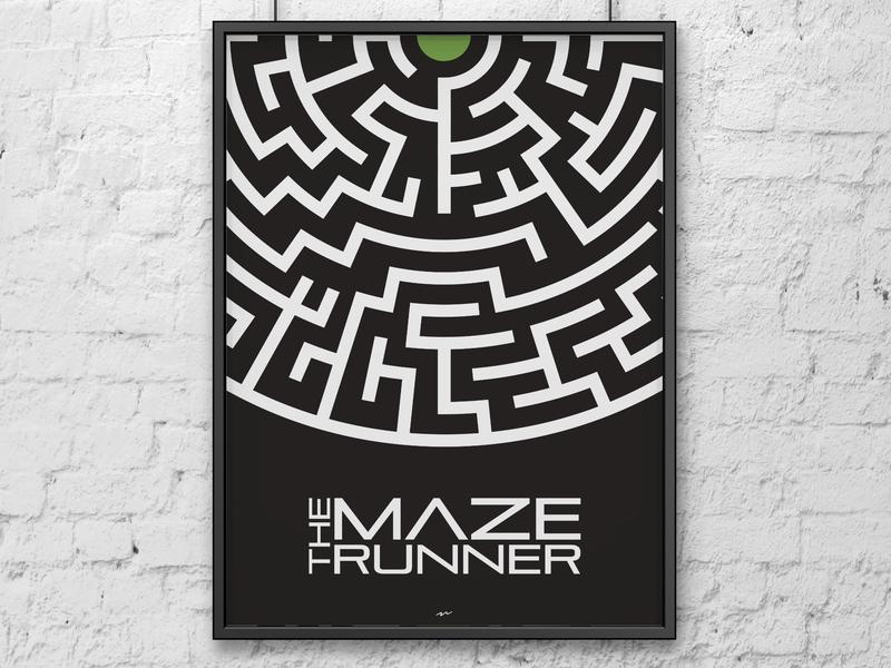 Maze Runner minimalist poster minimalist poster