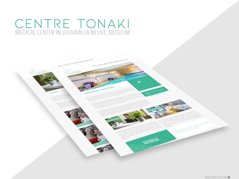 Centre Tonaki website web webdesign
