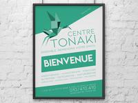 A1 poster for Centre Tonaki