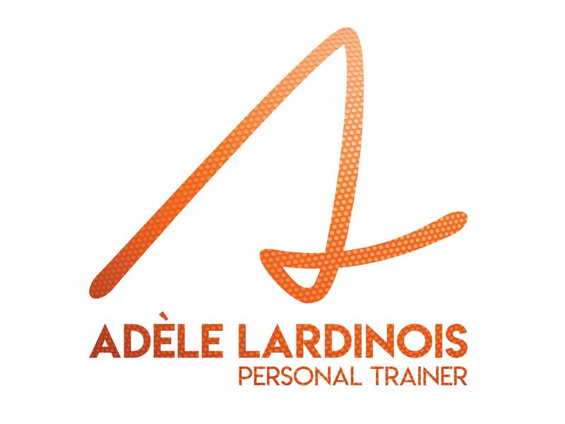 Adele Lardinois - Personal branding minimal minimalist business card logo branding