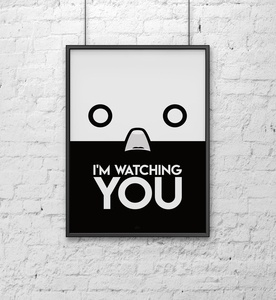 I'm watching you