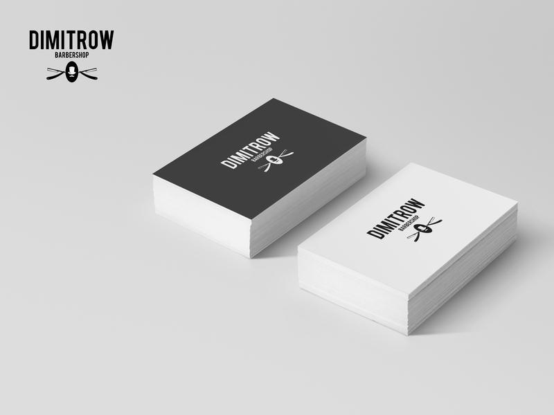 Dimitrow design logo branding business card