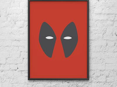 Deadpool minimal poster minimalist minimalist poster