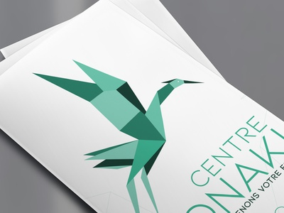 Trifold Centre Tonaki trifold brochure client work