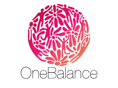 OneBalance Logo fredrikssondesign.se onebalance logo onebalance.se fredrikssondesign concept concept development wellbeing bravedance access bars eq-therapy design illustrator freedom dance logodesign logodesigner