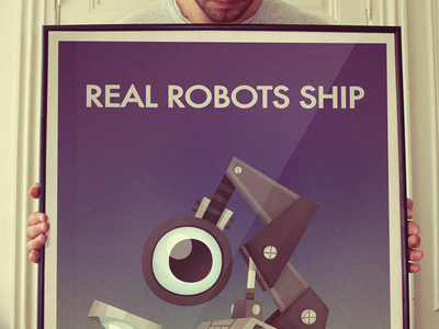 Real Robots Ship poster