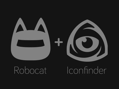 Robocat and Iconfinder