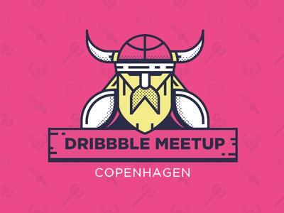 Dribbble meetup Copenhagen axes  beers meetup dribbble
