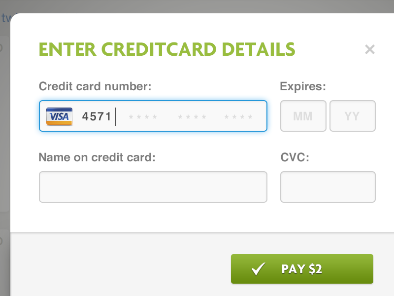Payment Form | Payment Form By Martin Leblanc Dribbble Dribbble