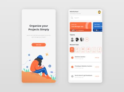 Task manager - mobile app