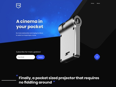 A Cinema In Your Pocket
