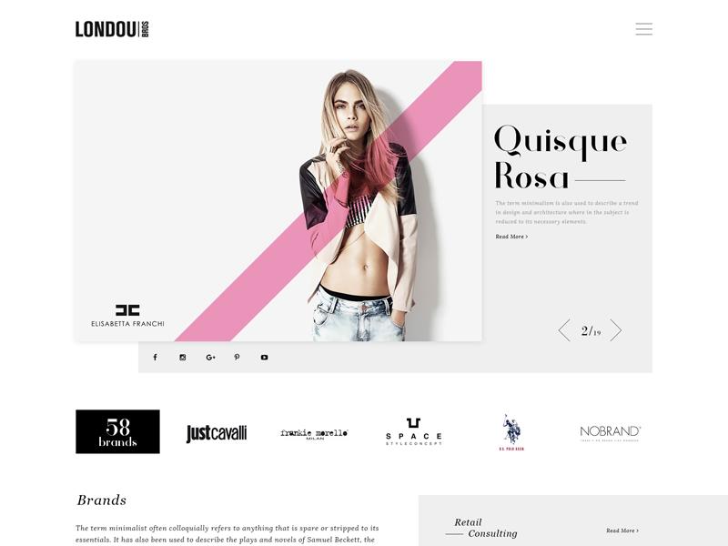 Fashion Homepage pink cara delevingne fashion homepage fashion website retail eshop fashion