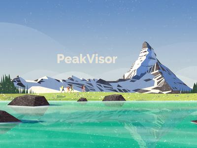 Peakvisor Artwork / App Store