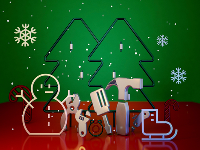 Christmas tools