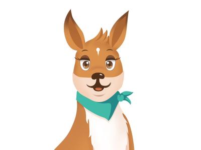 Kangaroo Mascot