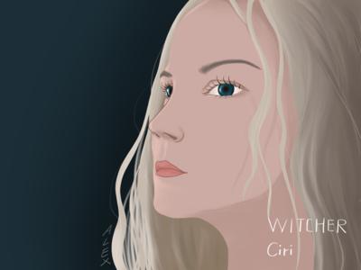 The witcher --Ciri