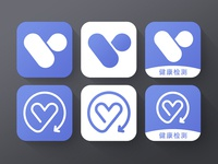 health test icon