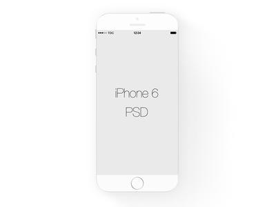 White iPhone 6 - FREEBIE
