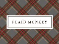 Plaid Monkey Logo