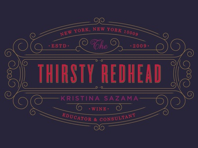 The Thirsty Redhead :: Concept One
