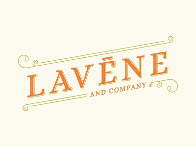 Lavene   co note simplified logo