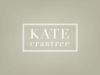 Kate Crabtree final logo concept