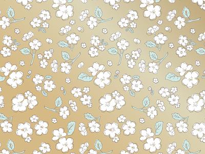 Mia Floral Pattern pattern floral gold gilded braizen jasminellesse hawaii mia repeat pattern jasmine byers jasmine ellesse mia moriguchi