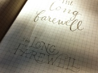The Long Farewell Sketch