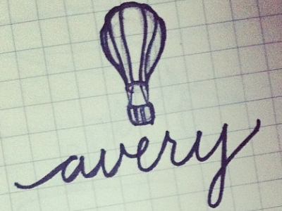 Sketching for Avery
