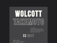 Wolcott Takemoto Brand Exploration