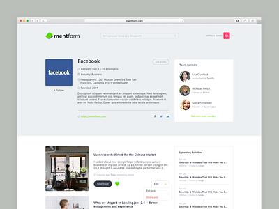 Mentform Company Profile
