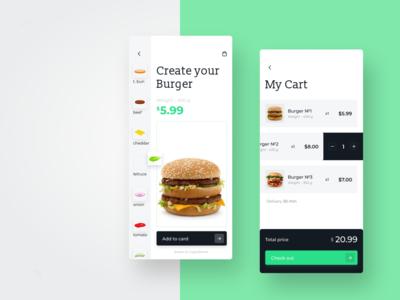 Food UI App
