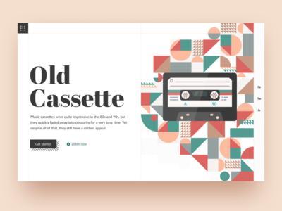 Old Cassette: Header