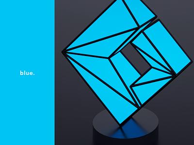 Logo | FreshCode | Concept design branding logotype freshcode code fresh octane render octane 3d 3d art cinema 4d cinema c4d blue logodesign logo