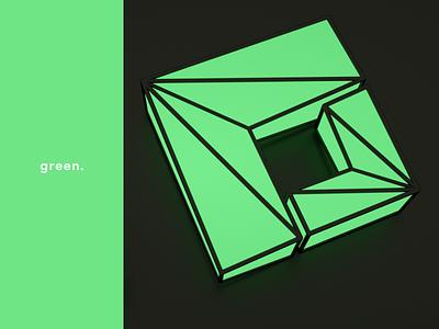 Freshcode Logo | 3d | Illustration | Concept brand design brand branding and identity render 3d art 3d c4d octane render octane cinema cinema4d green logotype illustration vector branding app design logo design logo