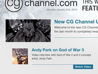 CG Channel Newletter