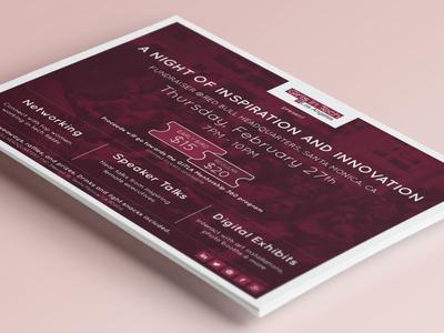 Girls In Tech Event Flyer