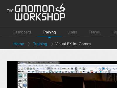 Gnomon Workshop Subscription Navigation
