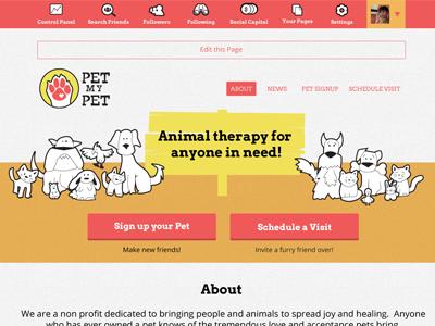 Nationbuilder Theme - Pet My Pet