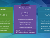 Plan Pricing - CG Rentamentor