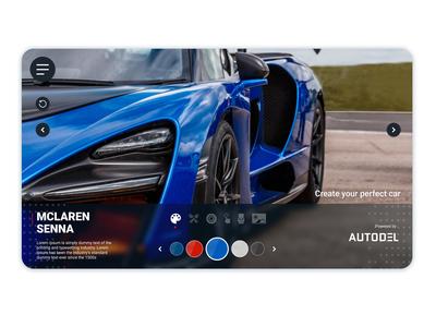 Autodel - UI Design - Color picker